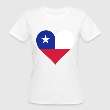 A heart for Chile - Women's Organic T-shirt