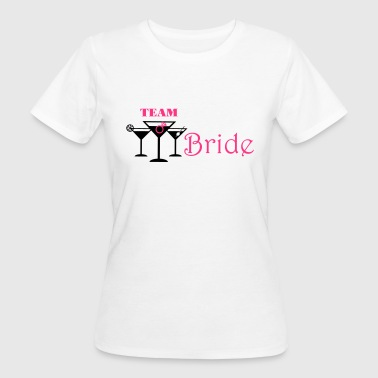 team bride cocktails - Vrouwen Bio-T-shirt