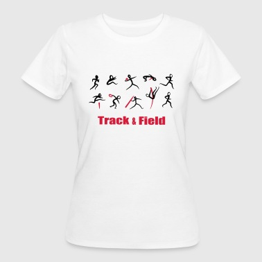 Decathlon, Track and Field - T-shirt ecologica da donna