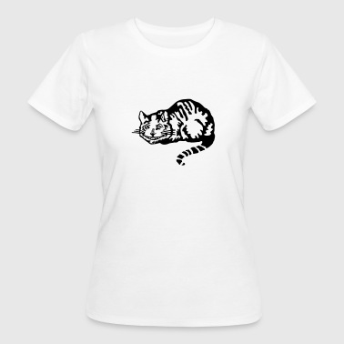 Cheshire cat - Frauen Bio-T-Shirt