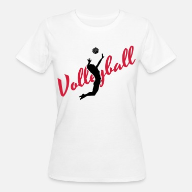 Volleyball Volleyball - Women's Organic T-Shirt