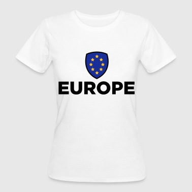 Europe Flag The Union Flag of Europe - Women's Organic T-Shirt