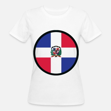 Santo Domingo Under the sign of the Dominican Republic - Women's Organic T-Shirt