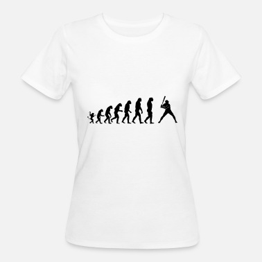 Evolution Baseball Baseball Evolution - Women's Organic T-Shirt