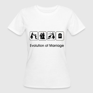 EVOLUTION OF MARRIAGE Tee shirts - T-shirt bio Femme