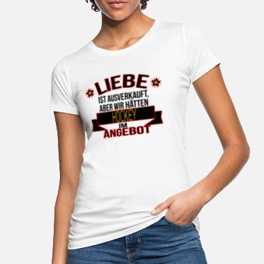HOCKEY - Frauen Bio T-Shirt
