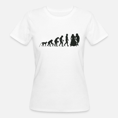 Boobs Bob Evolution - Vrouwen Bio-T-shirt