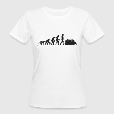 Rafting Evolution - T-shirt ecologica da donna