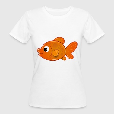 Poisson Rouge poisson rouge - T-shirt bio Femme
