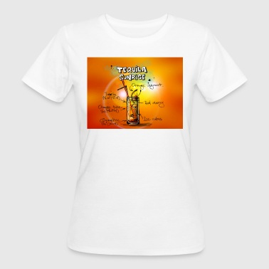 Tequila Sunrise Cocktail Tequila Sunrise Recipe - Women's Organic T-Shirt