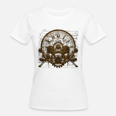 Steam Steampunk Time Machine #1A Men's Premium T-Shirt - Frauen Bio-T-Shirt