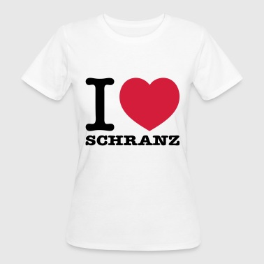 I love Schranz Techno - Frauen Bio-T-Shirt