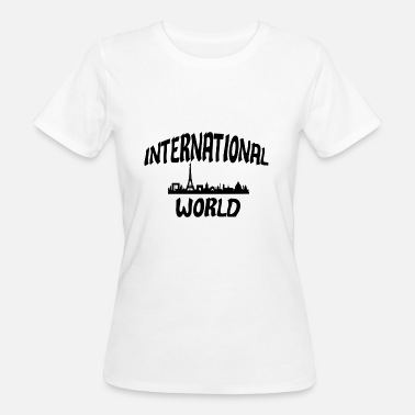 Matchs Internationaux Le monde international - T-shirt bio Femme