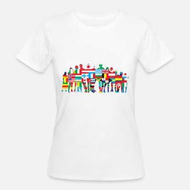 National Colours Nations - Women's Organic T-Shirt