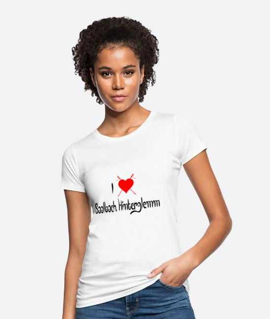 Vacation T-Shirts - Saalbach Hinterglemm - Women's Organic T-Shirt white
