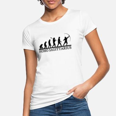 Homo Sagitarius, Archer Evolution, archery - Women's Organic T-Shirt