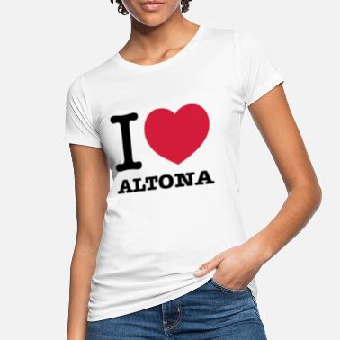 Altona I love Hamburg Altona - Women's Organic T-Shirt