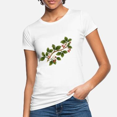 Twig A twig with fruit - Women's Organic T-Shirt