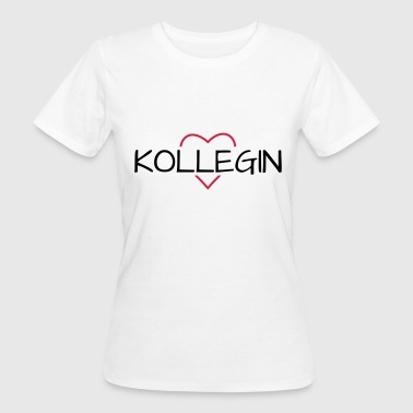 Colleague Colleague heart favorite colleague gift - Women's Organic T-Shirt
