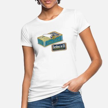 Dose sardines in oil - Frauen Bio T-Shirt