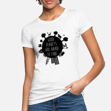 Tag Der Erde Planet Earth - Frauen Bio T-Shirt