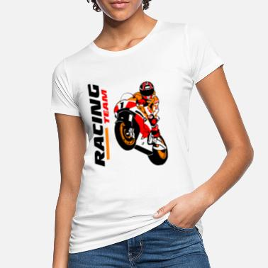 Racing Motorcycles Motorcycle racing - racing motorcycle - Women's Organic T-Shirt