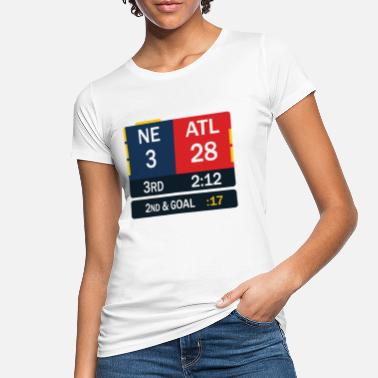 New England New England Patriots Comeback in Superbowl 51 - Frauen Bio T-Shirt