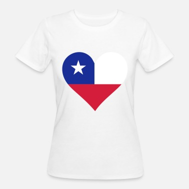 Atacama Desert A heart for Chile - Women's Organic T-Shirt