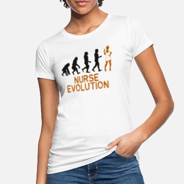 System Nurse evolution nurse profession - Women's Organic T-Shirt