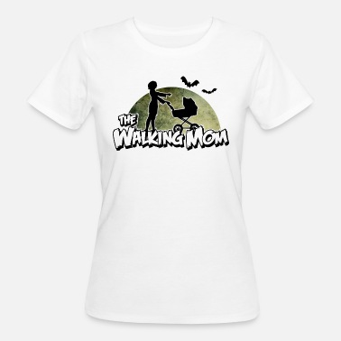 Baby Dad Mom The walking Mom - Zombie Mutter - Halloween - Baby - Camiseta ecológica mujer