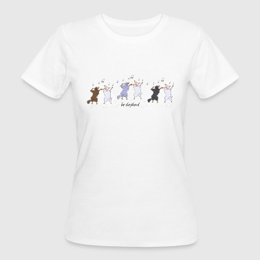 Shepherds and Sheep - Women's Organic T-shirt