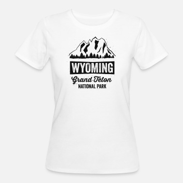 Tetons Wyoming Parc national du Grand Teton - T-shirt bio Femme