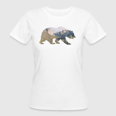 Rocky Mountain bear - Women's Organic T-shirt