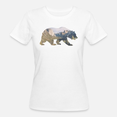 Rocky Mountains Orso di Rocky Mountain - T-shirt ecologica da donna