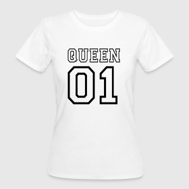 quePARTNERSHIRT - Queen 01 - Women's Organic T-shirt
