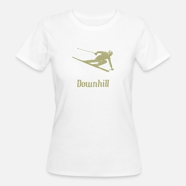 Esquí Alpino Esquí alpino Esquí alpino - Camiseta ecológica mujer