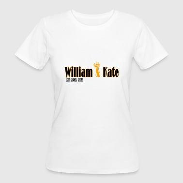 William and Kate, Kate & William The Royal Saga - Women's Organic T-Shirt