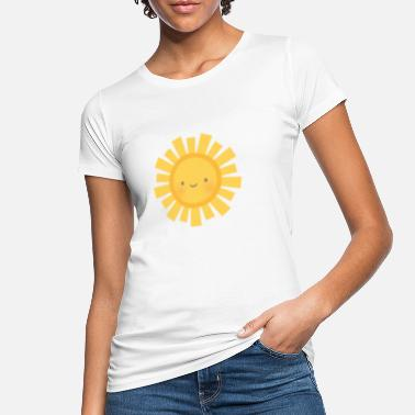 Sun Rays Cute Sun and Sun rays - Women's Organic T-Shirt