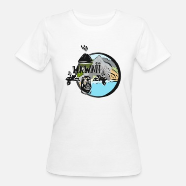 Hawaii-tattoo Hawaii - Frauen Bio-T-Shirt
