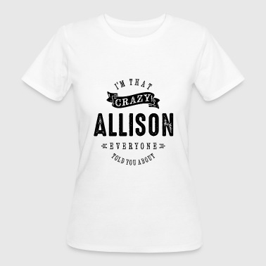 ALLISON - Women's Organic T-Shirt