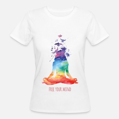 Yoga Yoga - free your mind - Frauen Bio-T-Shirt