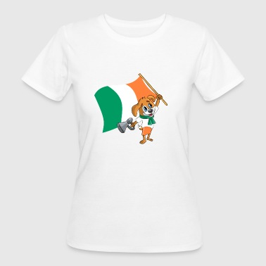 Ireland Fan Ireland fan dog - Women's Organic T-Shirt