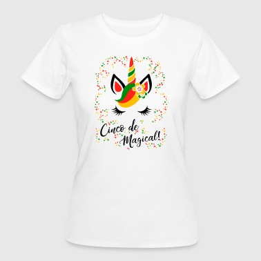 cinco de magical -Einhorn.-Mexico Fest-Feiertag - Frauen Bio-T-Shirt