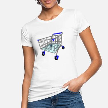 Shopping Cart shopping cart - Women's Organic T-Shirt