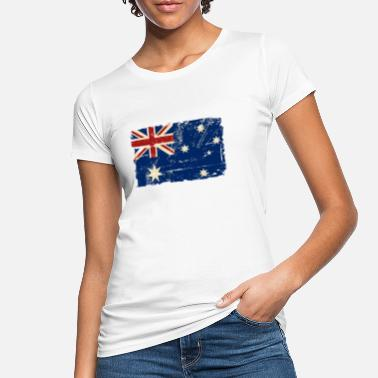 Down Under Australien - Down Under - Vintage Look - Frauen Bio T-Shirt