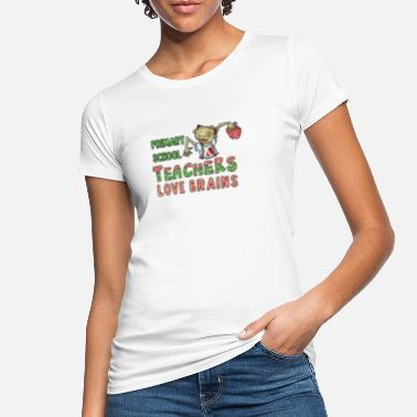 Lagere School Lagere school Teacher of Love Zombie Teacher Kostü - Vrouwen bio T-shirt