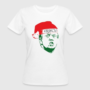 The Grinch grinch trump christmas - Women's Organic T-Shirt
