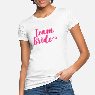 2719c566 Utdrikningslag Team Bride - Økologisk T-skjorte for kvinner