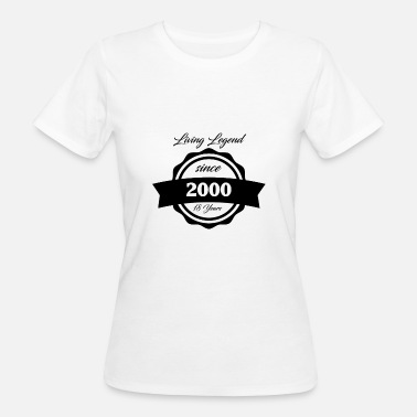 2000s Gift for 18 year olds - Women's Organic T-Shirt
