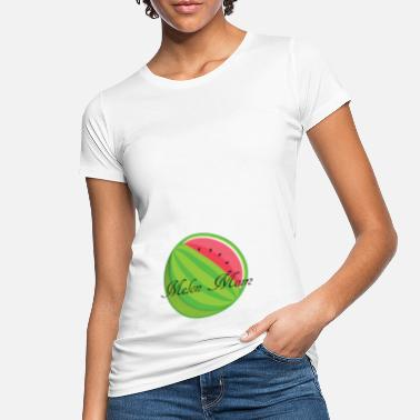 Melone Melon Mom - Frauen Bio T-Shirt